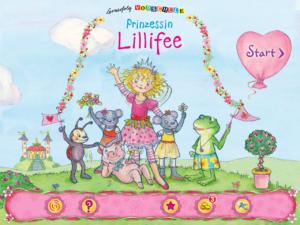 Lernerfolg Vorschule Prinzessin Lillifee Startmenü