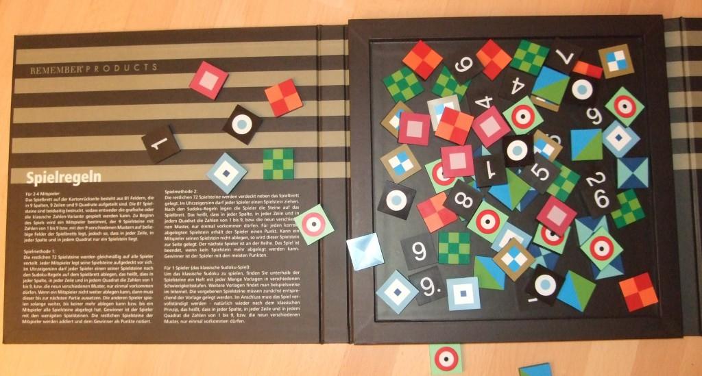gespielt sudoku von remember  senkpiel