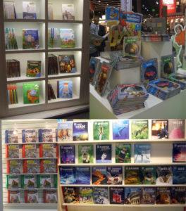 Sachbücher verschiedener Verlage auf der Buchmesse 2013