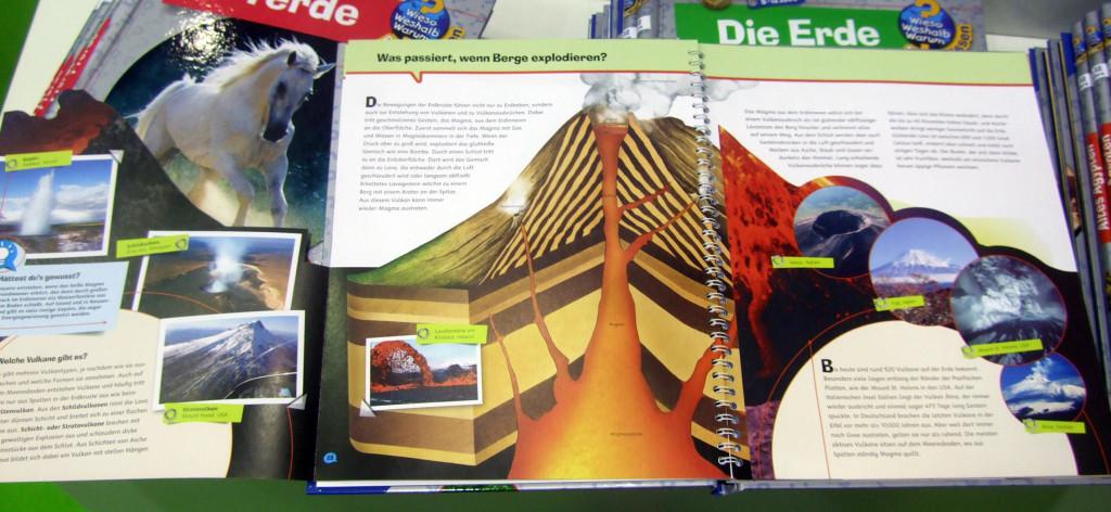 Wieso Weshalb Warum Vulkane Innenansicht
