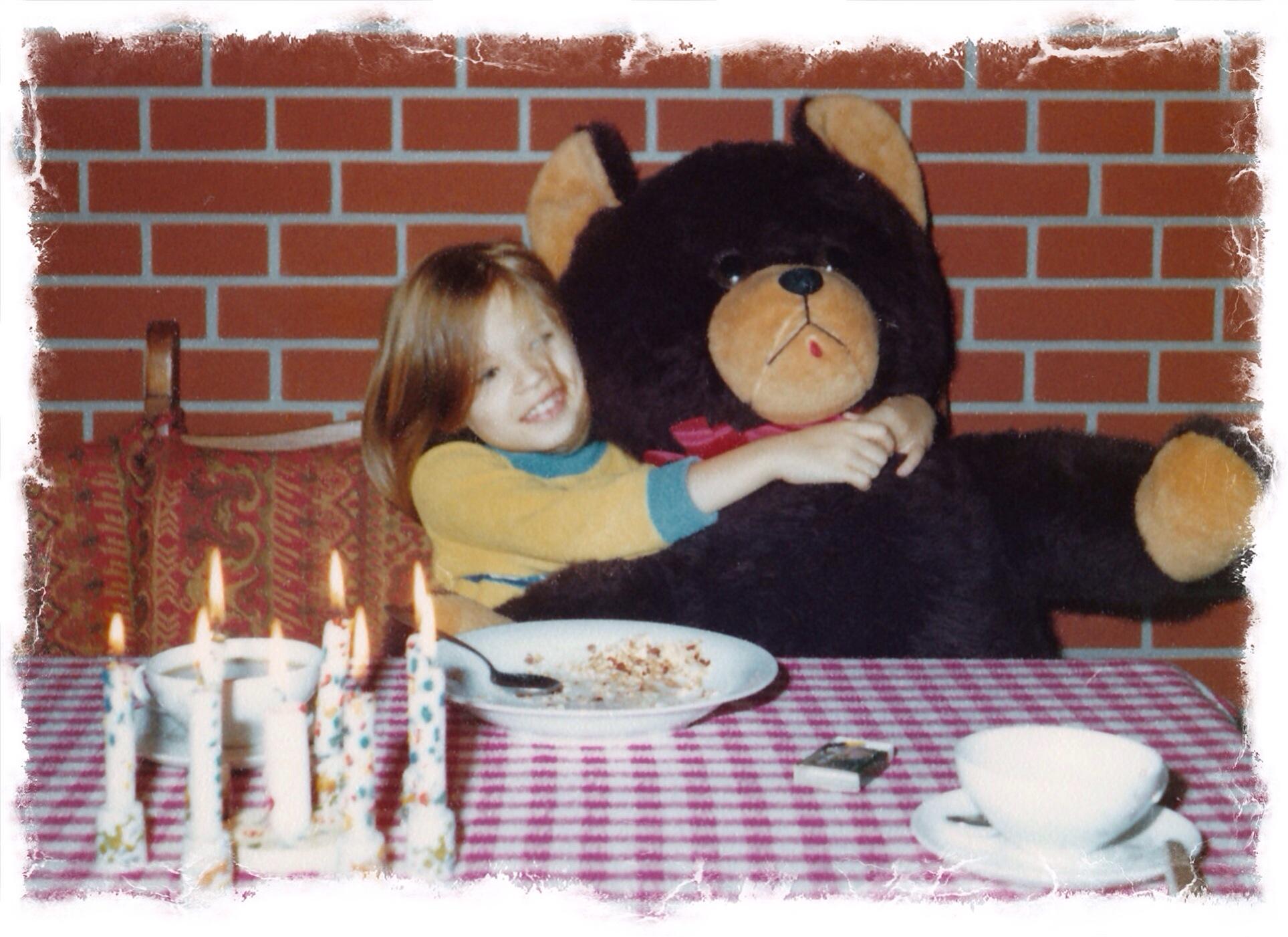 Brummbär zum Geburtstag