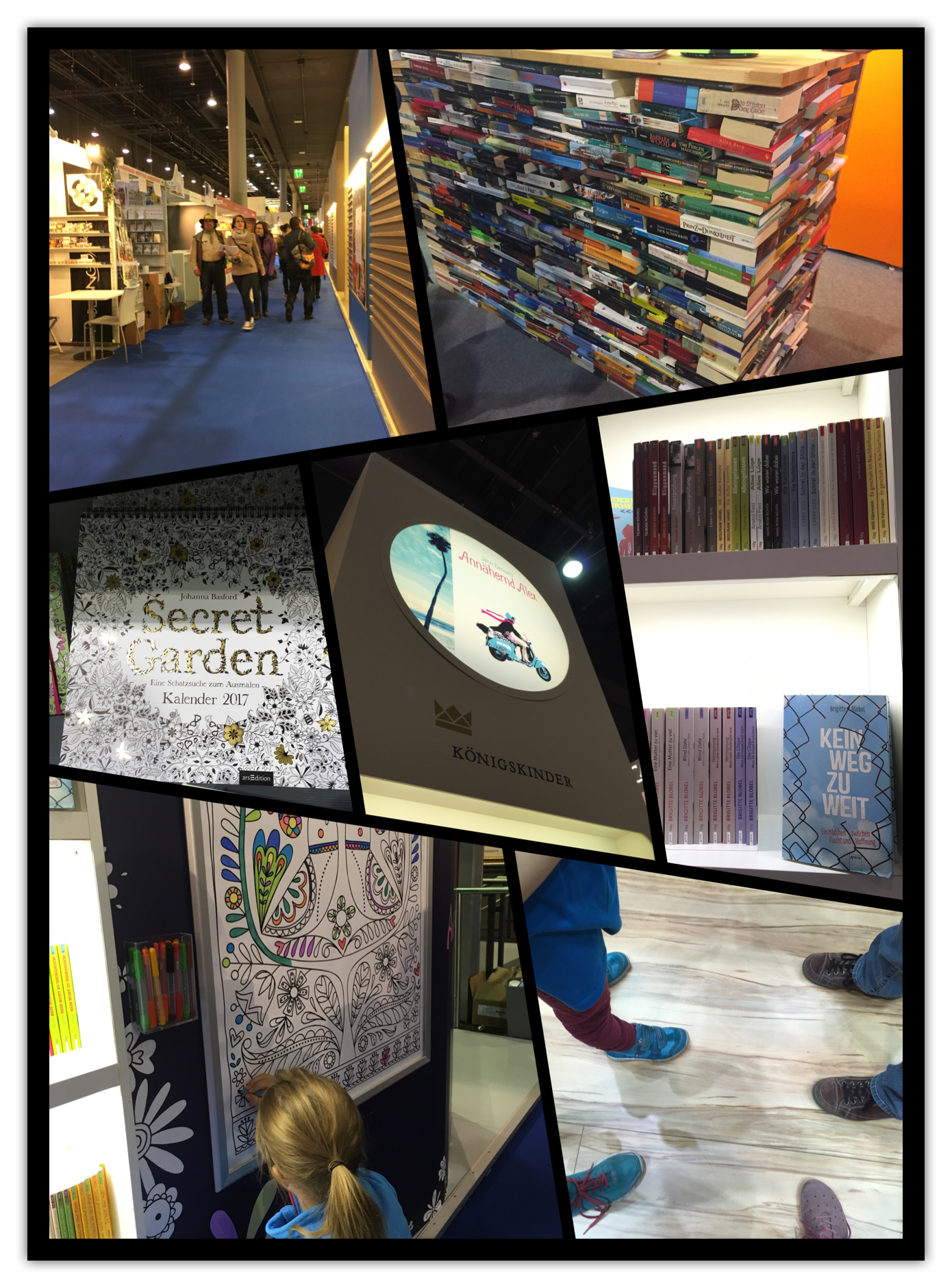 Buchmesse Collage