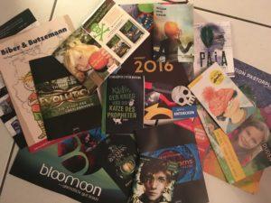 Verlagsprogramme und Leseproben