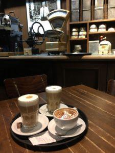 Speicherstadt Kaffeerösterei innen