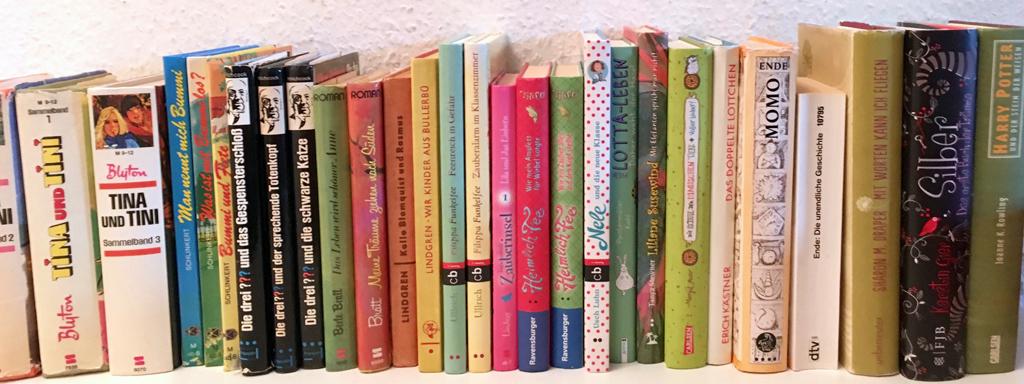 Reihe von Kinderbüchern