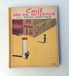 altes Buch, Emil und die Detektive