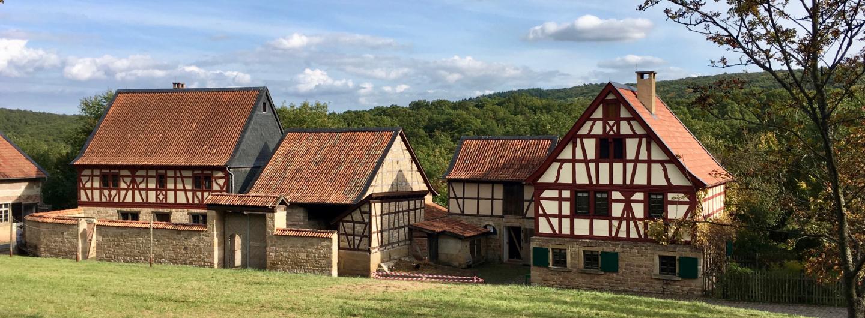 Häuserensemble im Rheinland-Pfälzischen Freilichtmuseum