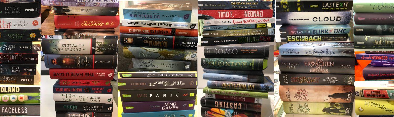 gestapelte Bücher