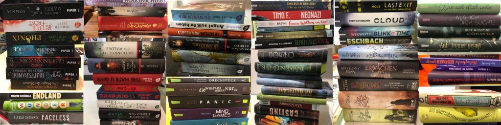 Wunschbuchstapel Buchmesse 2017