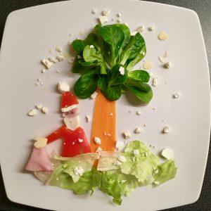 Nikolaus aus Gemüse