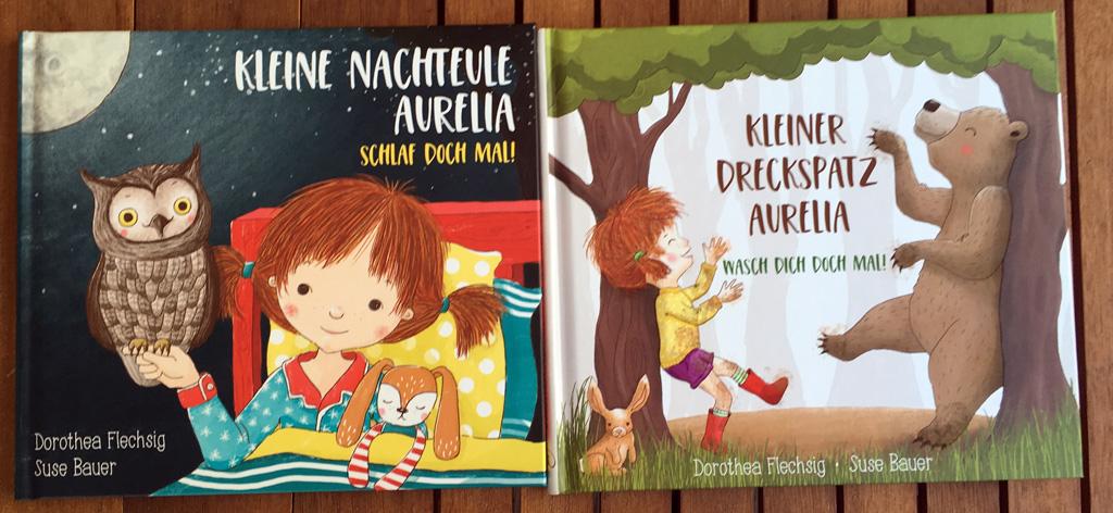 Cover der Aurelia Bücher von Dorothea Flechsig.