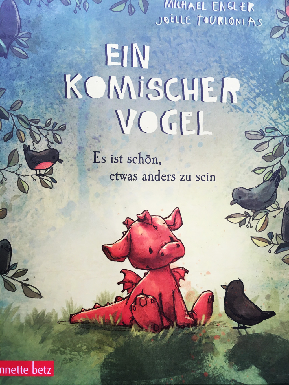 """Cover """"Ein komischer Vogel""""."""